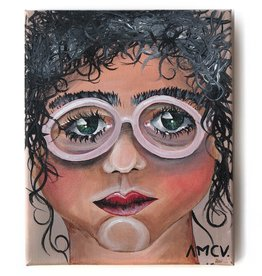 "AMCV ""Self-Portrait"" 4 acrylic on canvas by AMCV"