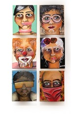 "AMCV ""Self-Portrait"" 4 acrylic on canvas by AMCV"