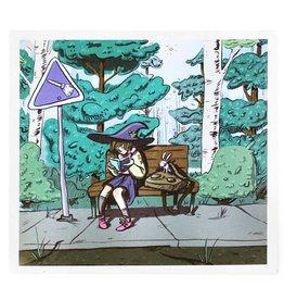 """Sophie Quillec """"Garden Magic"""" digital print by Sophie Quillec"""