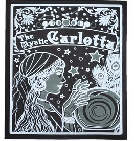 """The Mystic Carlotta"" Silk Screen Print by Danielle Przybysz"