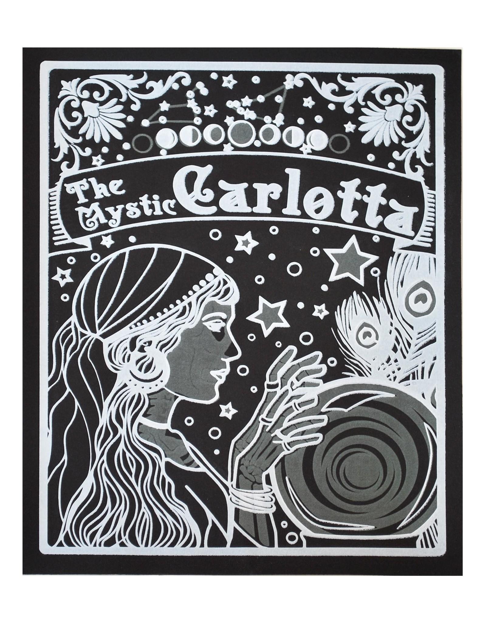 """The Mystic Carlotta"" Silk Screen Print by Danielle Przybysz"