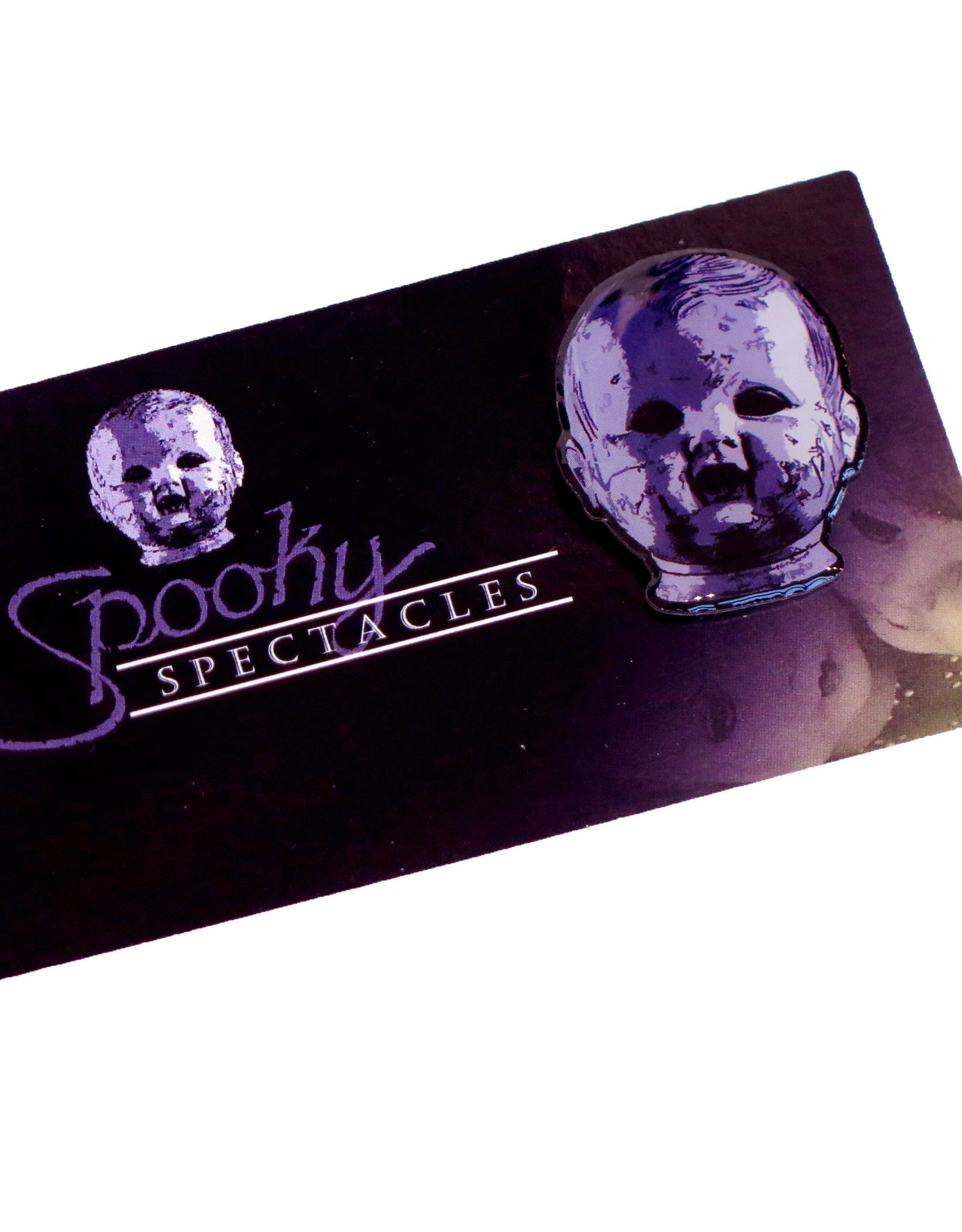 Doll Head pin by Spooky Spectacles