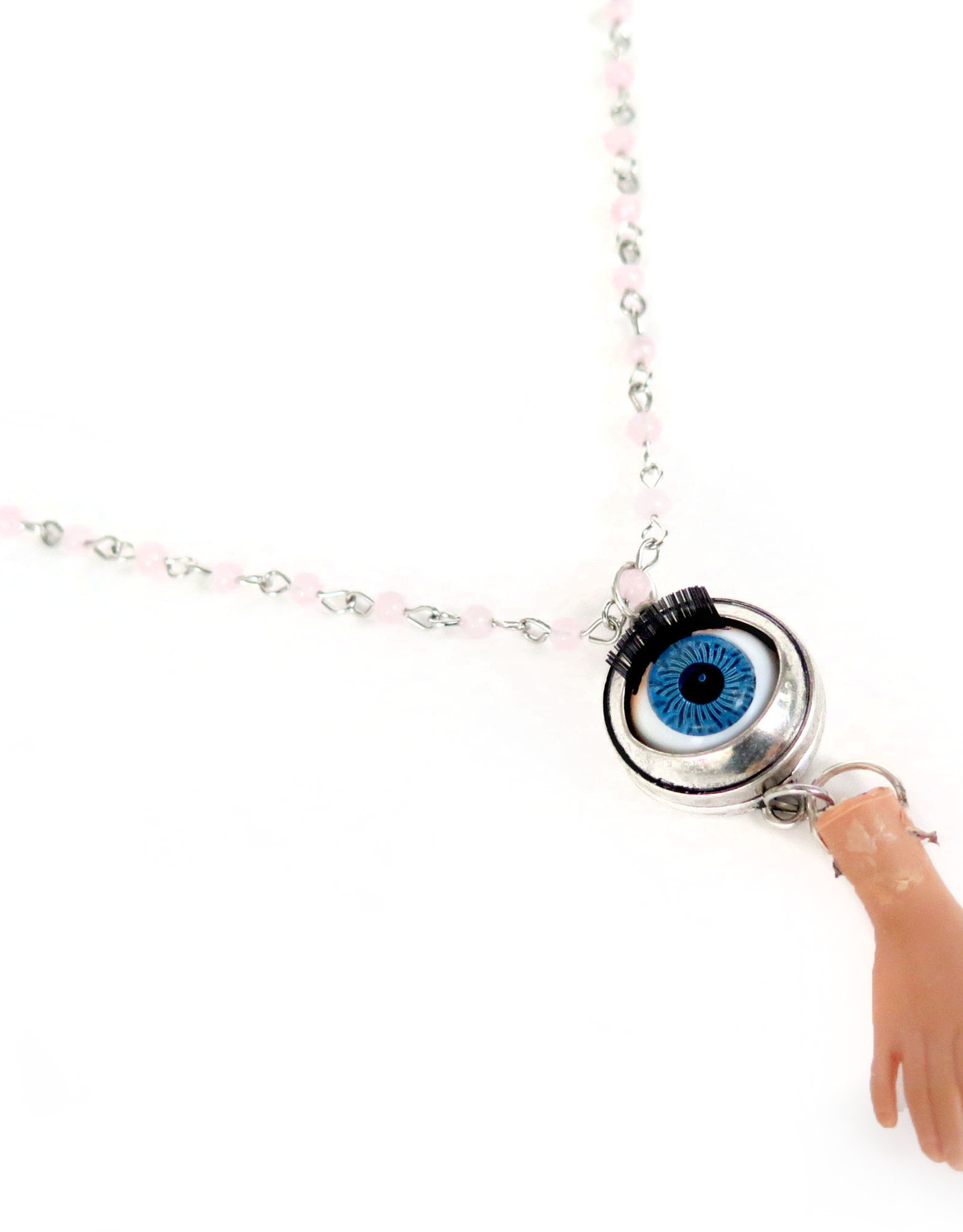 Hand Necklace by Spooky Spectacles