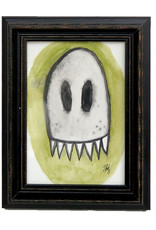 "Melissa Rohr Gindling ""Damien the Ghost"" Mini Illustration by Melissa Rohr"