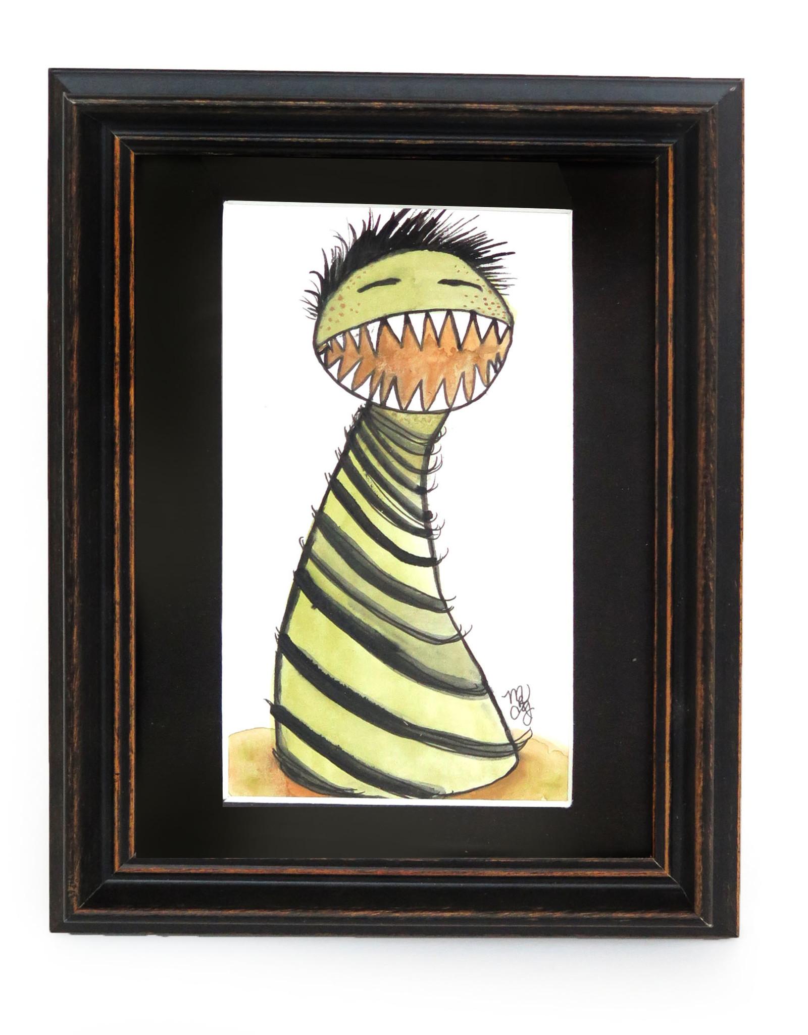 "Melissa Rohr Gindling ""Alan the Monster"" Mini Illustration by Melissa Rohr"