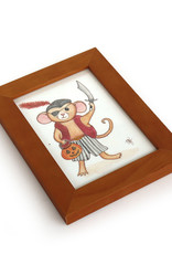 """Melissa Rohr Gindling """"Pirate Mouse"""" Mini Illustration by Melissa Rohr"""