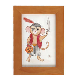 "Melissa Rohr Gindling ""Pirate Mouse"" Mini Illustration by Melissa Rohr"