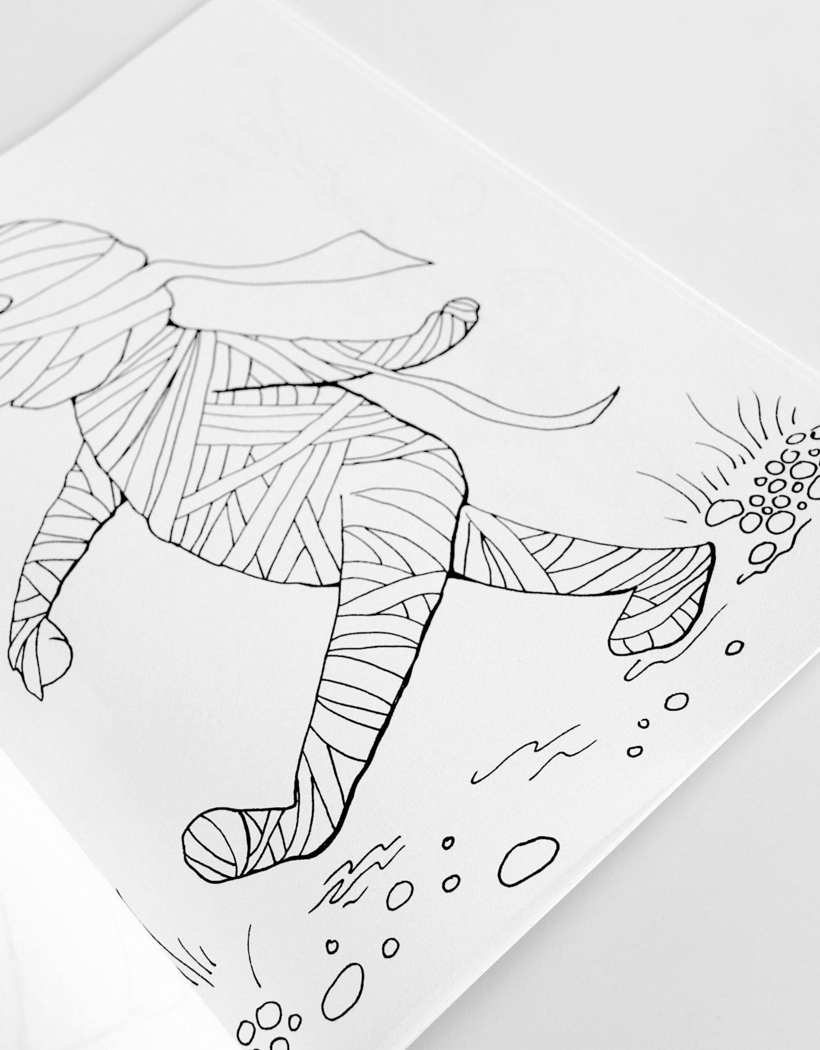 Melissa Rohr Gindling Halloween Coloring Book by Melissa Rohr Gindling