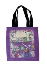 Sophie Quillec Trick or Treat Tote by Sophie Quillec