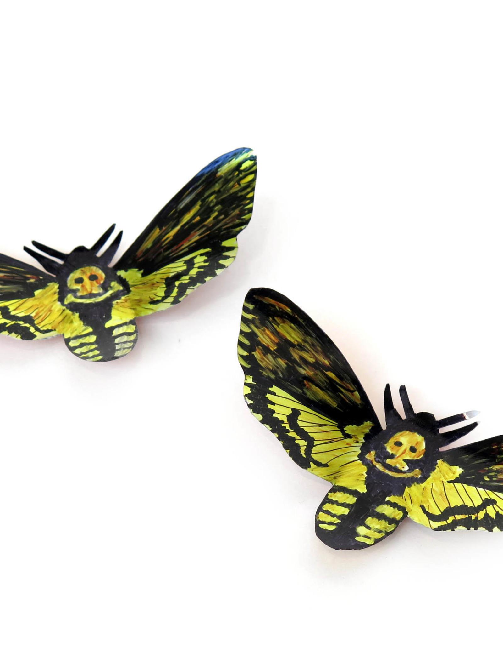 Death's-head Hawkmoth Magnet by Sophia Abel