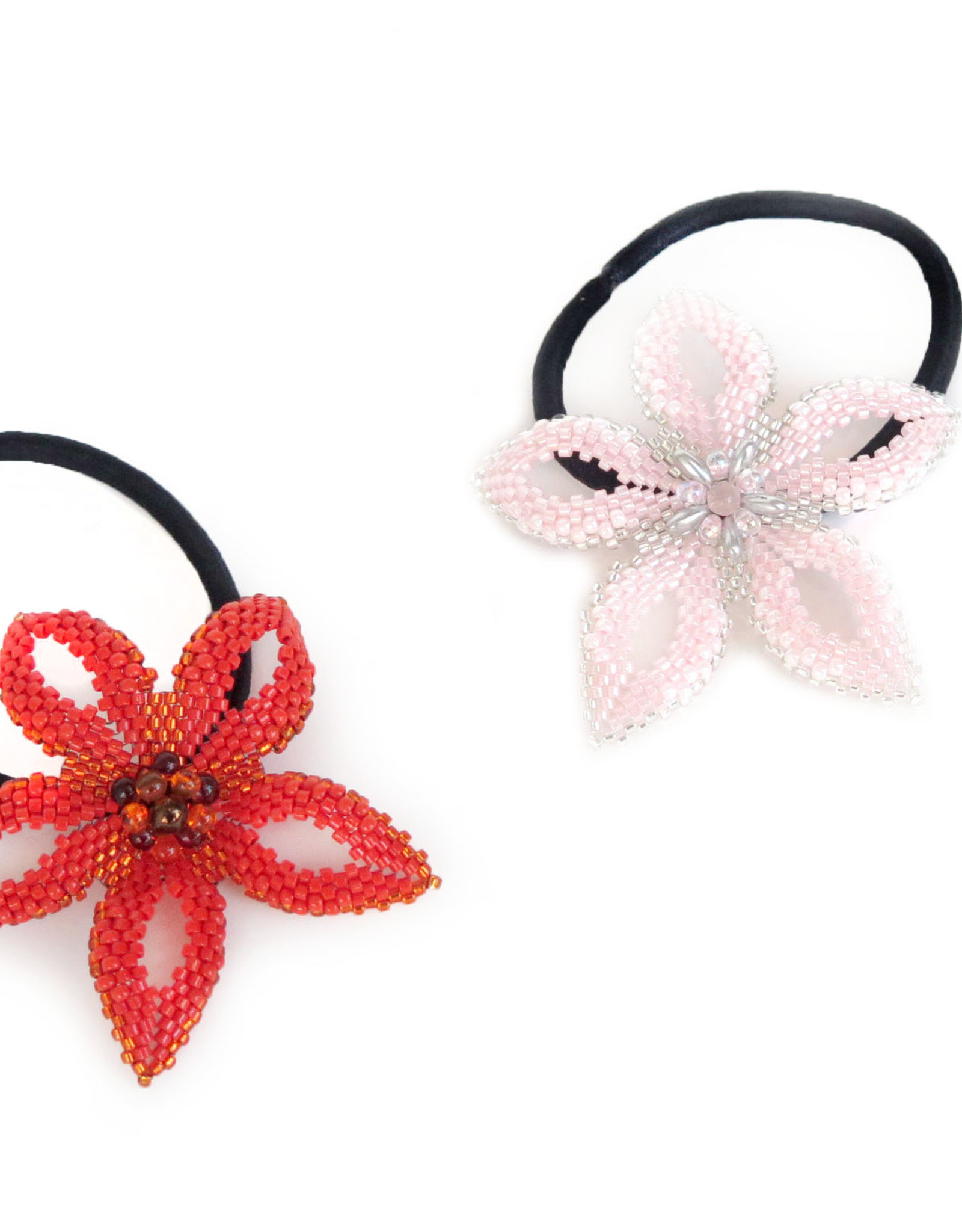 "Knot Thinkers ""Beaded Hair Band"" (pink) by Knot Thinkers"