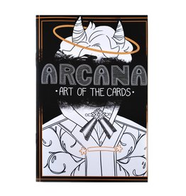 """Arcana: Art of the Cards"" zine by Hunibeetea"