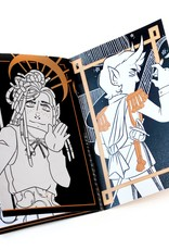 """Arcana: Art of the Cards"" zine by Hunibeetea"