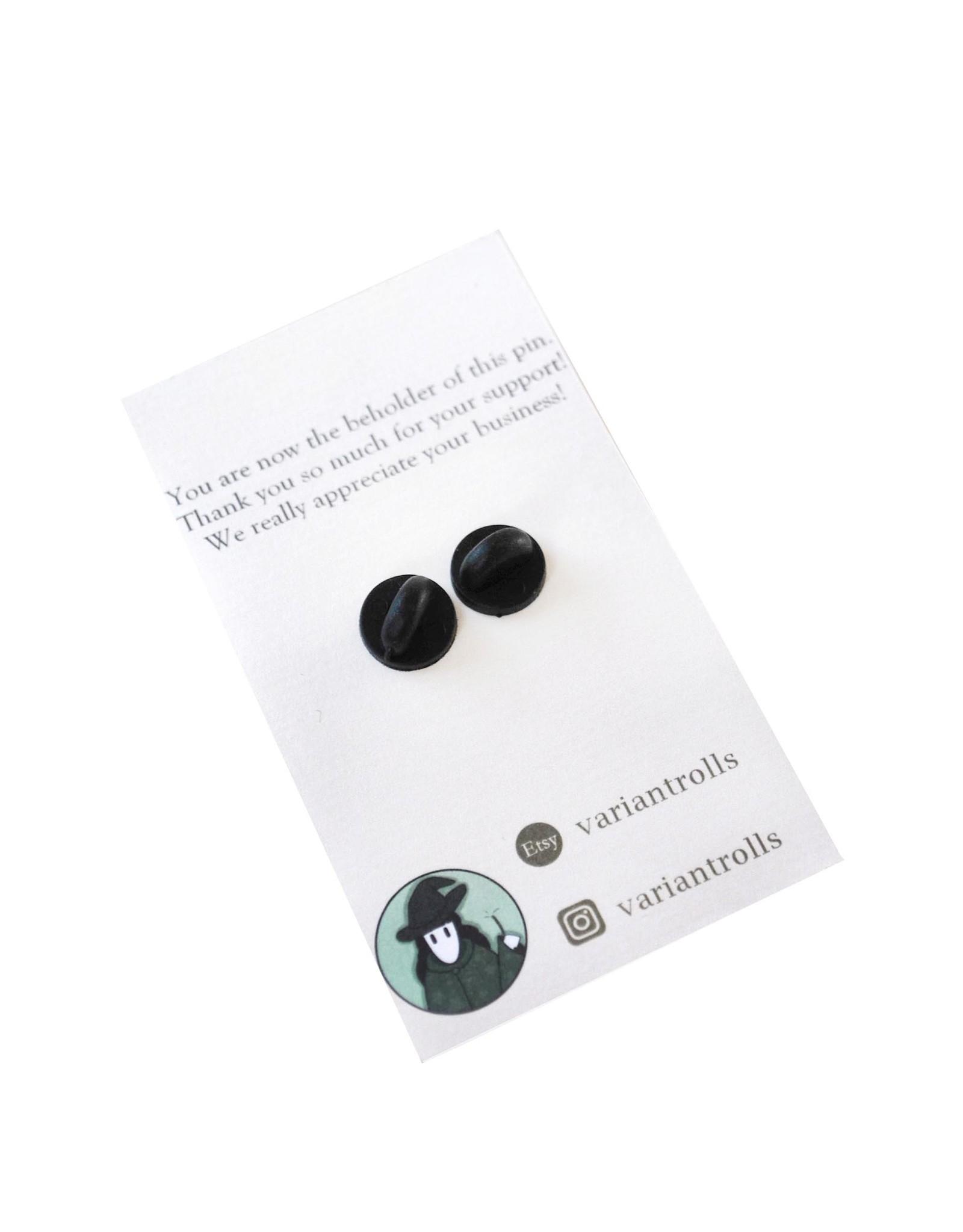 Spellbook Enamel Pin by Madeleine Brittingham