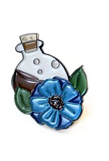 Potion Bottle Enamel Pin by Madeleine Brittingham