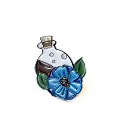 Potion Bottle Enamel Pin by Madeleine Brittingham