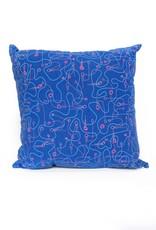 PINTL + KEYT Flight (blue) pillow  PINTL + KEYT