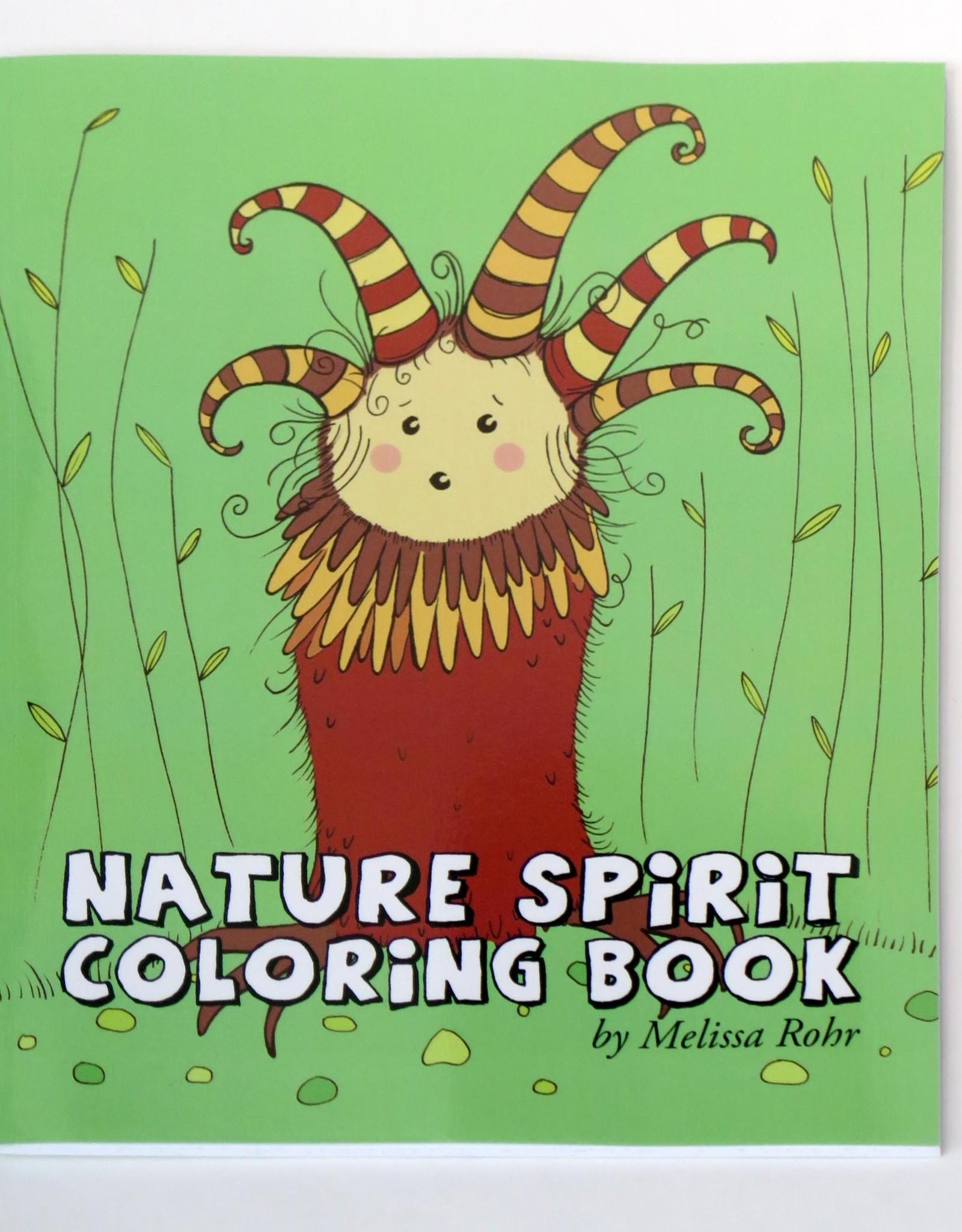 Melissa Rohr Gindling Nature Spirit Coloring Book by Melissa Rohr Gindling
