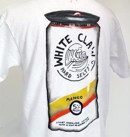 "AMCV ""White claw"" acrylic paint on white tshirt by AMCV"