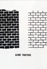 Julia Arredondo Alone Together screenprint and letterpress on bristol by Julia Arredondo