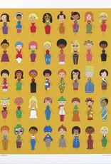 "Ivan Brunetti ""Forty Women"" digital print by Ivan Brunetti"