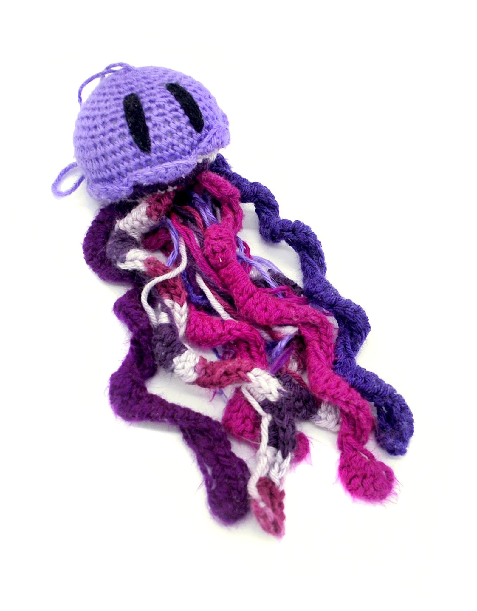 Haley Slamon Lavender and Purple Plush Jellyfish by Haley Slamon