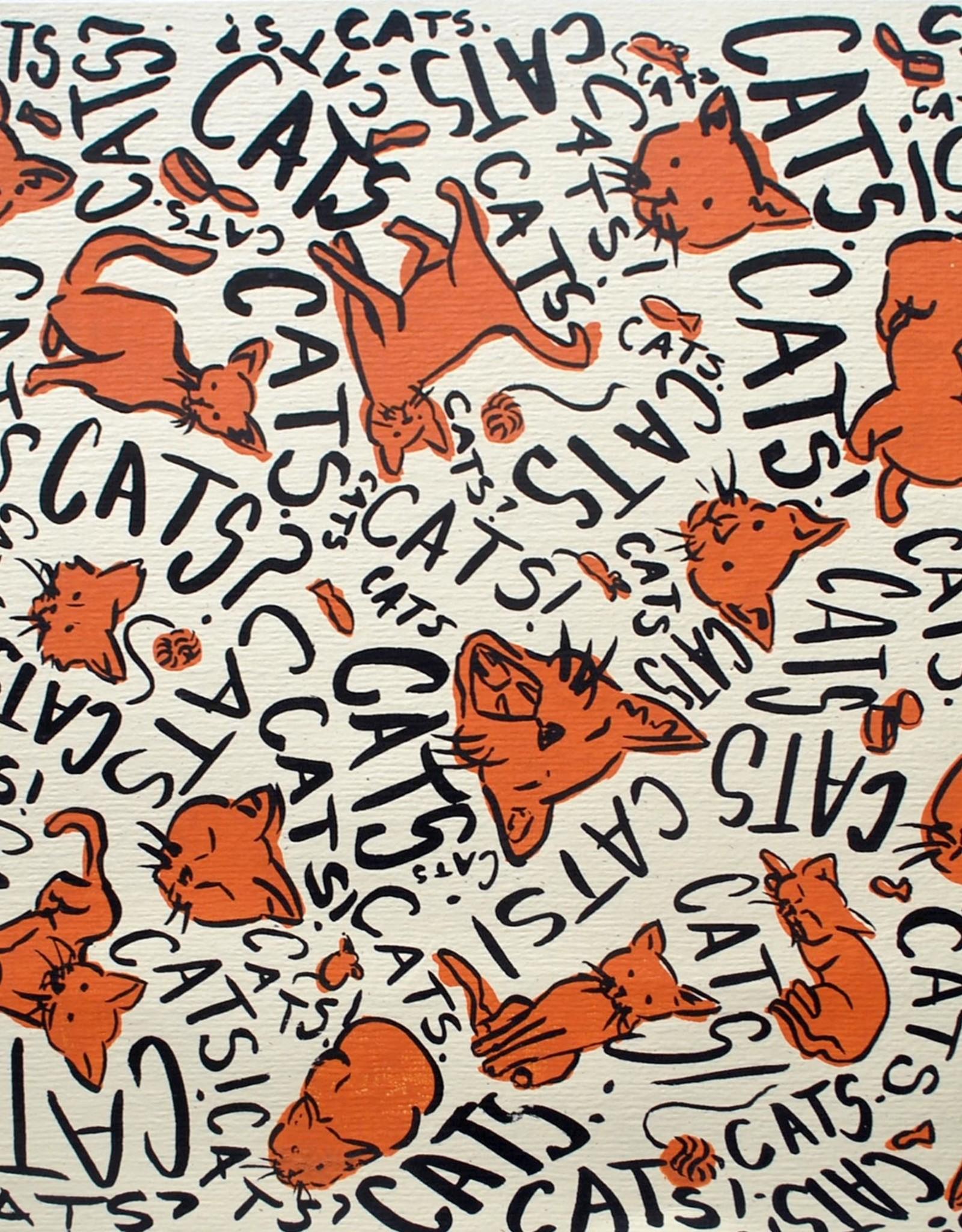 """CATS!"" by Sidney Trobee"