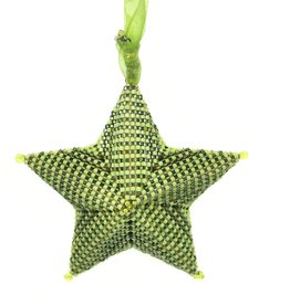 "Knot Thinkers ""Star Ornament"" (green) by Knot Thinkers"
