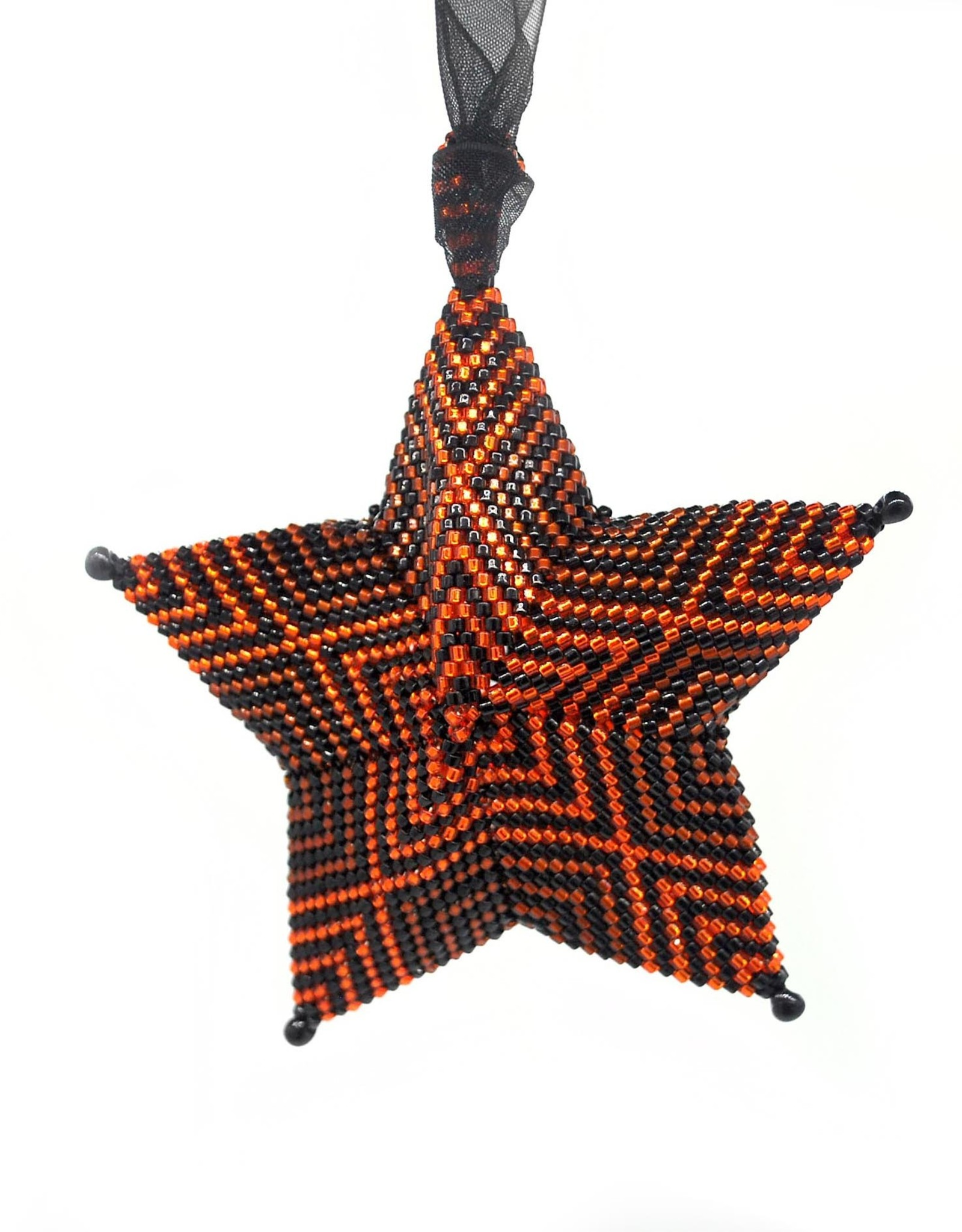 """Knot Thinkers """"Star Ornament"""" (orange) by Knot Thinkers"""