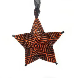 "Knot Thinkers ""Star Ornament"" (orange) by Knot Thinkers"