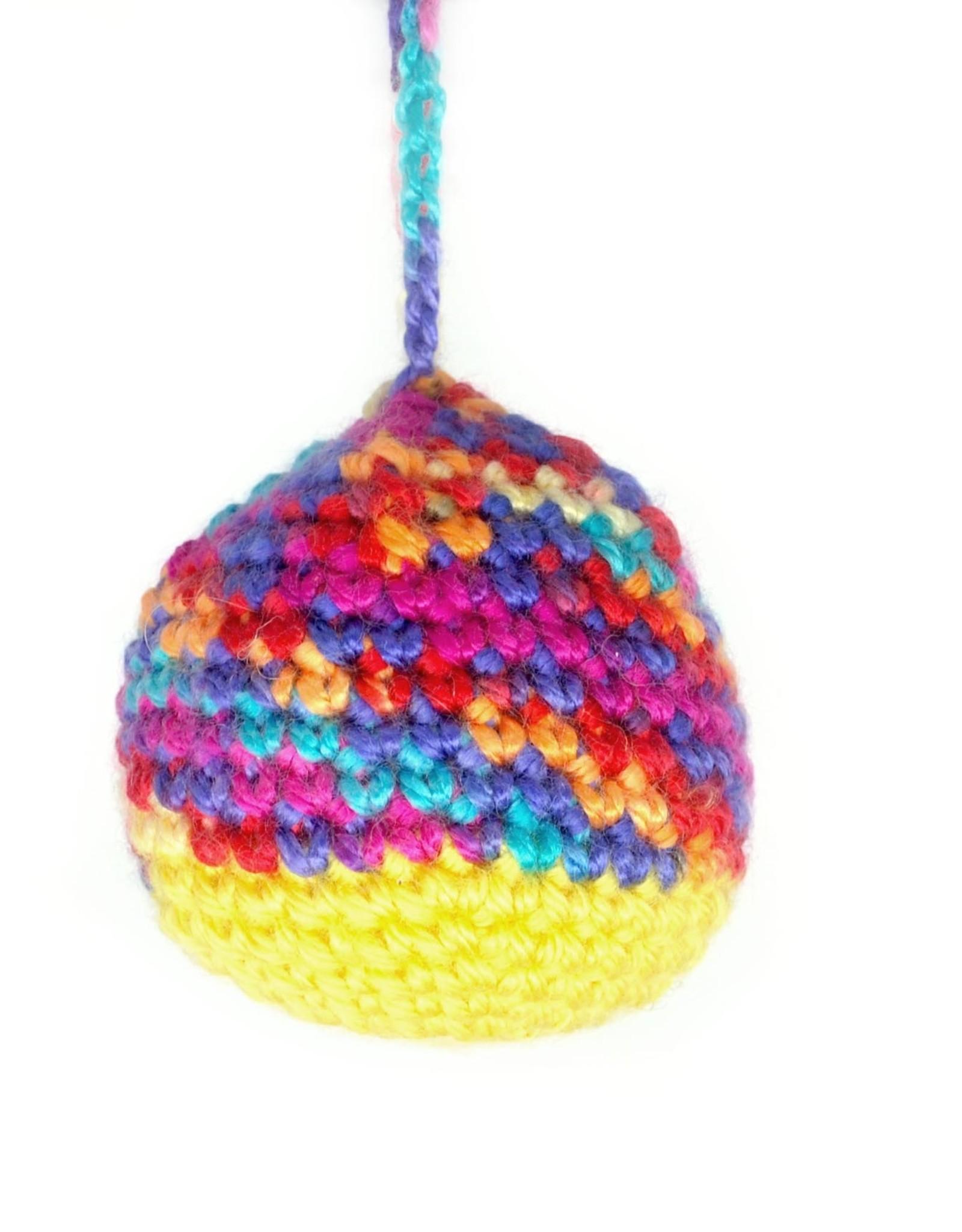 Multicolor Crochet Ornament by Hale Ekinci