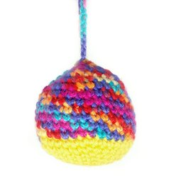 Multicolor Crochet Ornament by Hale Ekinci