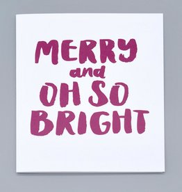Paper Heart Dispatch Merry and Bright Card by Jennifer HInes