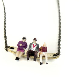 Peppermint Emporium Waiting Necklace by Peppermint Emporium