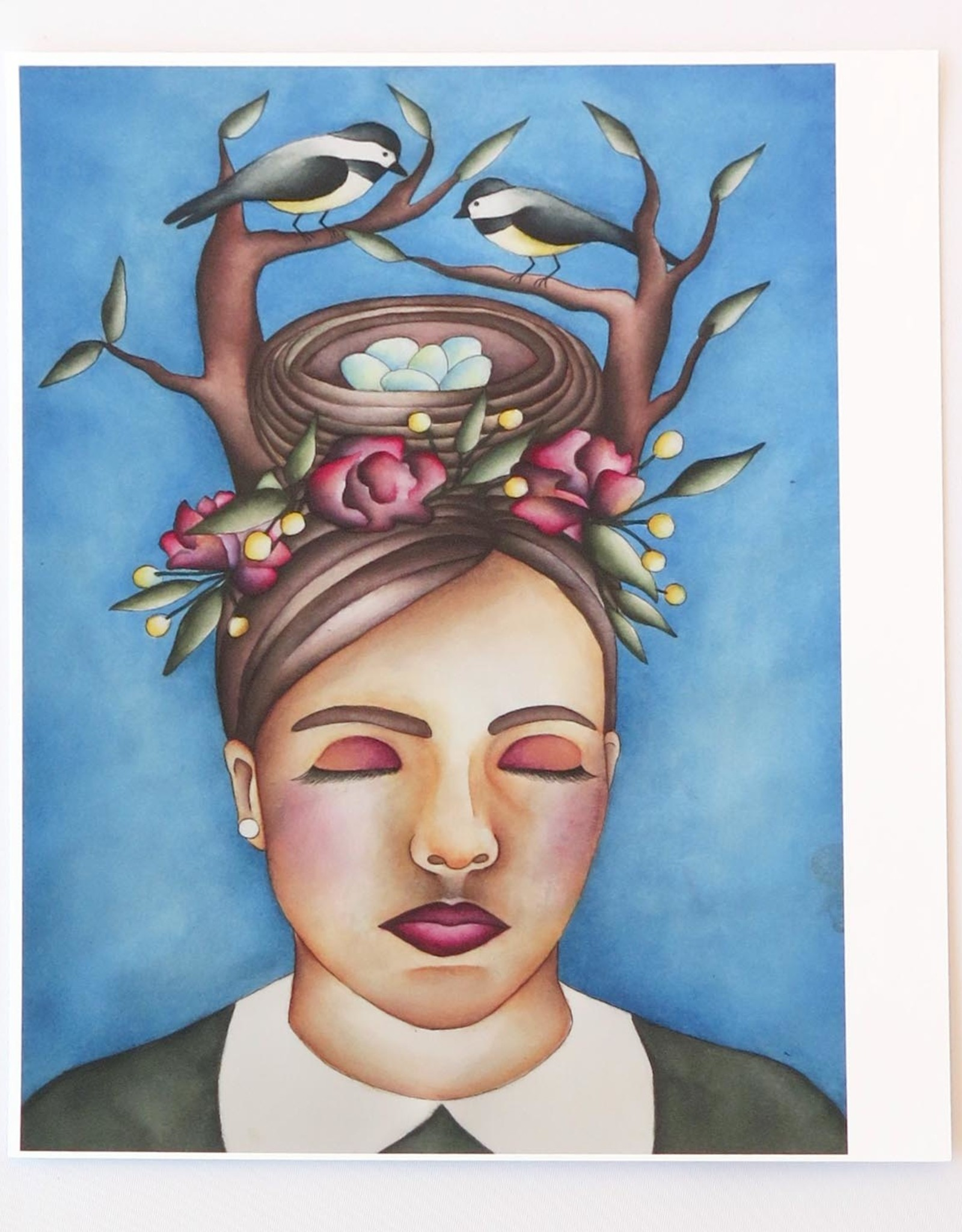 """""""The Bun"""" print by Lizzie Monsreal"""