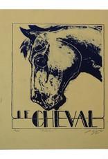 """""""Flâner"""" lithograph, Lily Cozzens"""