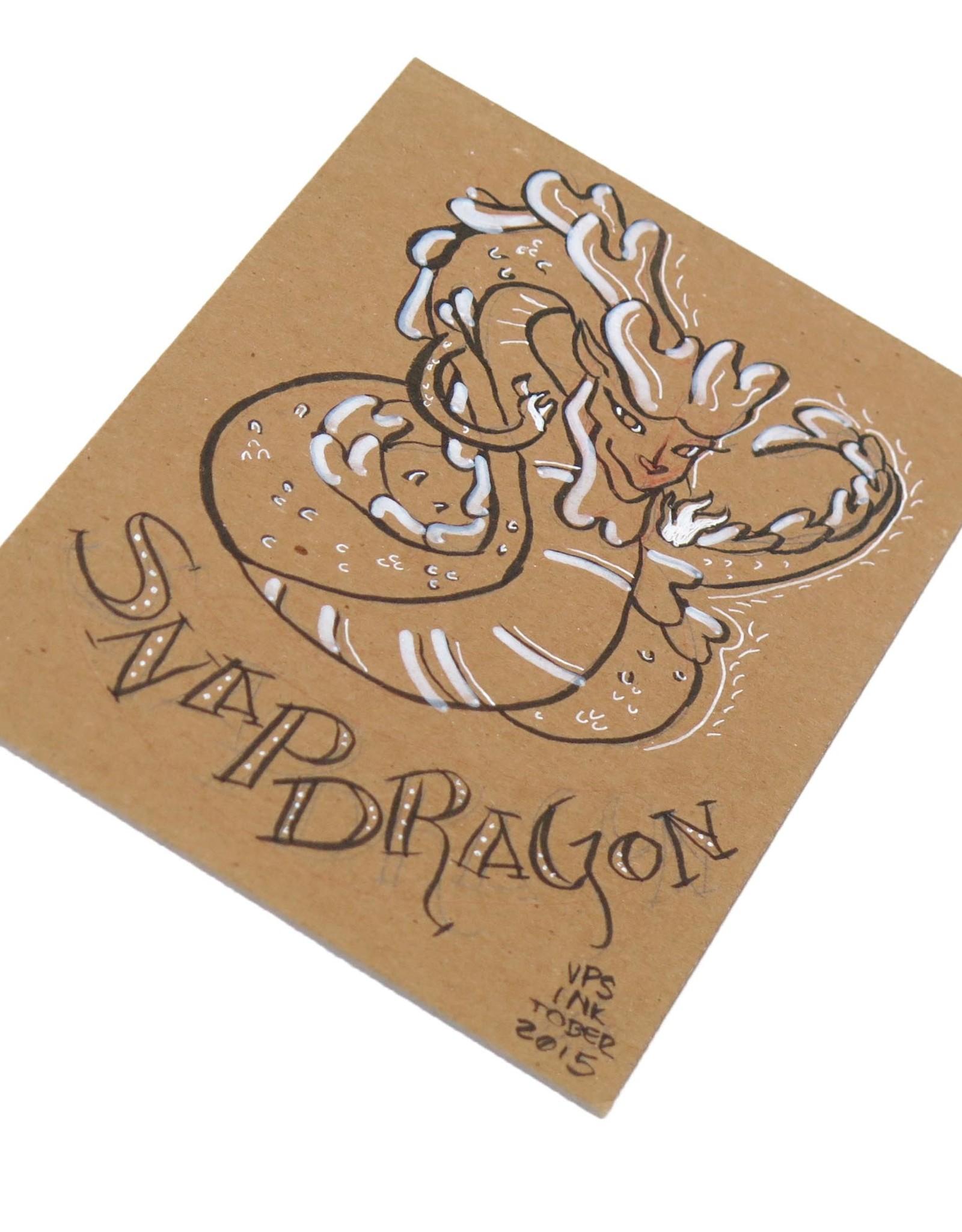 """Snapdragon"" Inktober original drawing. Vixtopher"
