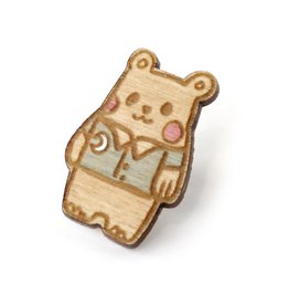 "Sophie Quillec ""Bear: PJ's"" pin by Sophie Quillec"