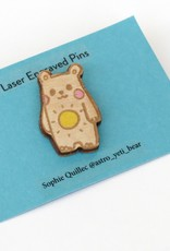 """Sophie Quillec """"Bear: Sun"""" pin by Sophie Quillec"""