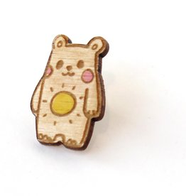 "Sophie Quillec ""Bear: Sun"" pin by Sophie Quillec"