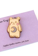 """Sophie Quillec """"Bear: Moon"""" pin by Sophie Quillec"""