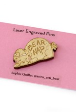"""Sophie Quillec """"Bear Nap"""" pin by Sophie Quillec"""