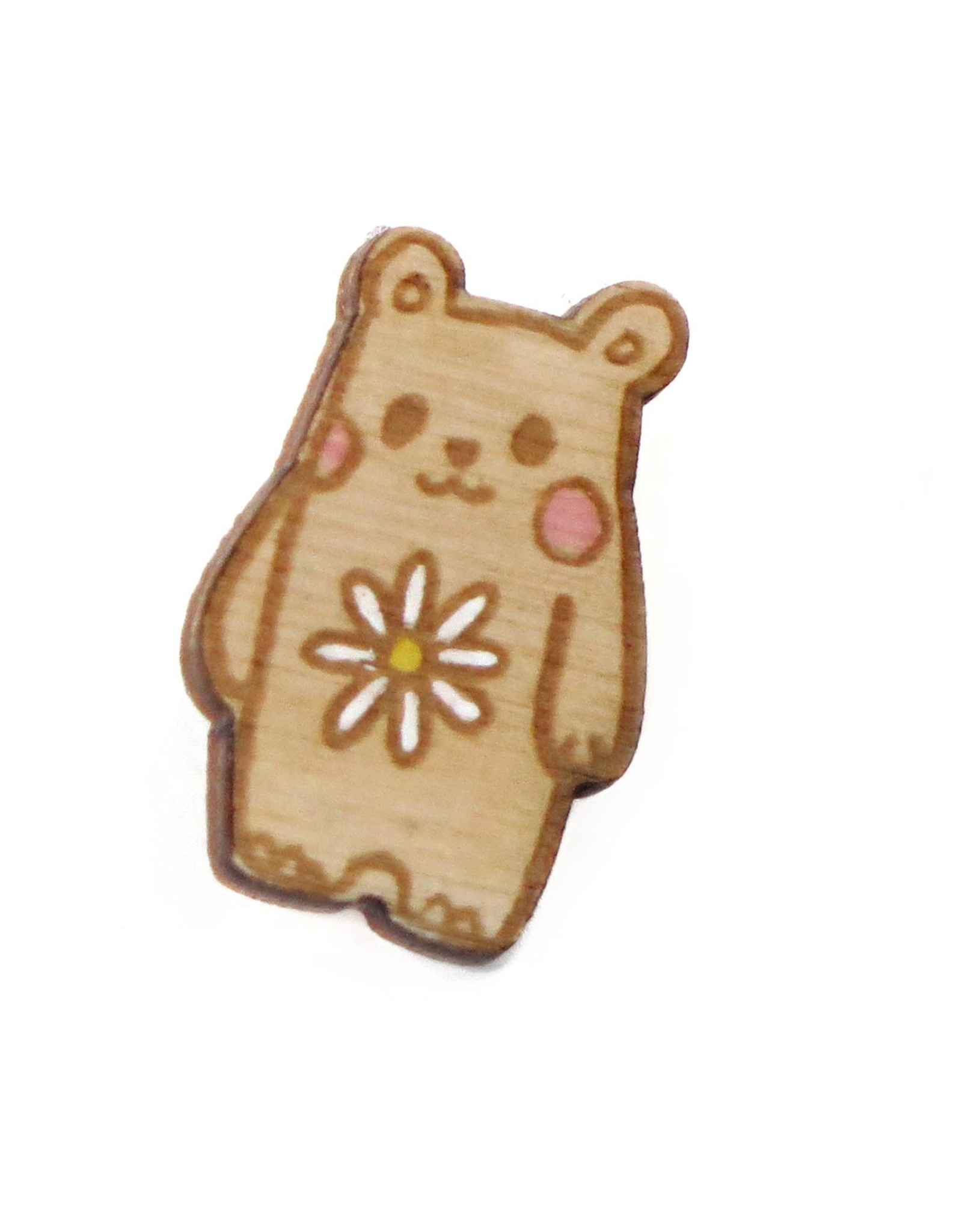 """Sophie Quillec """"Bear: Flower"""" pin by Sophie Quillec"""