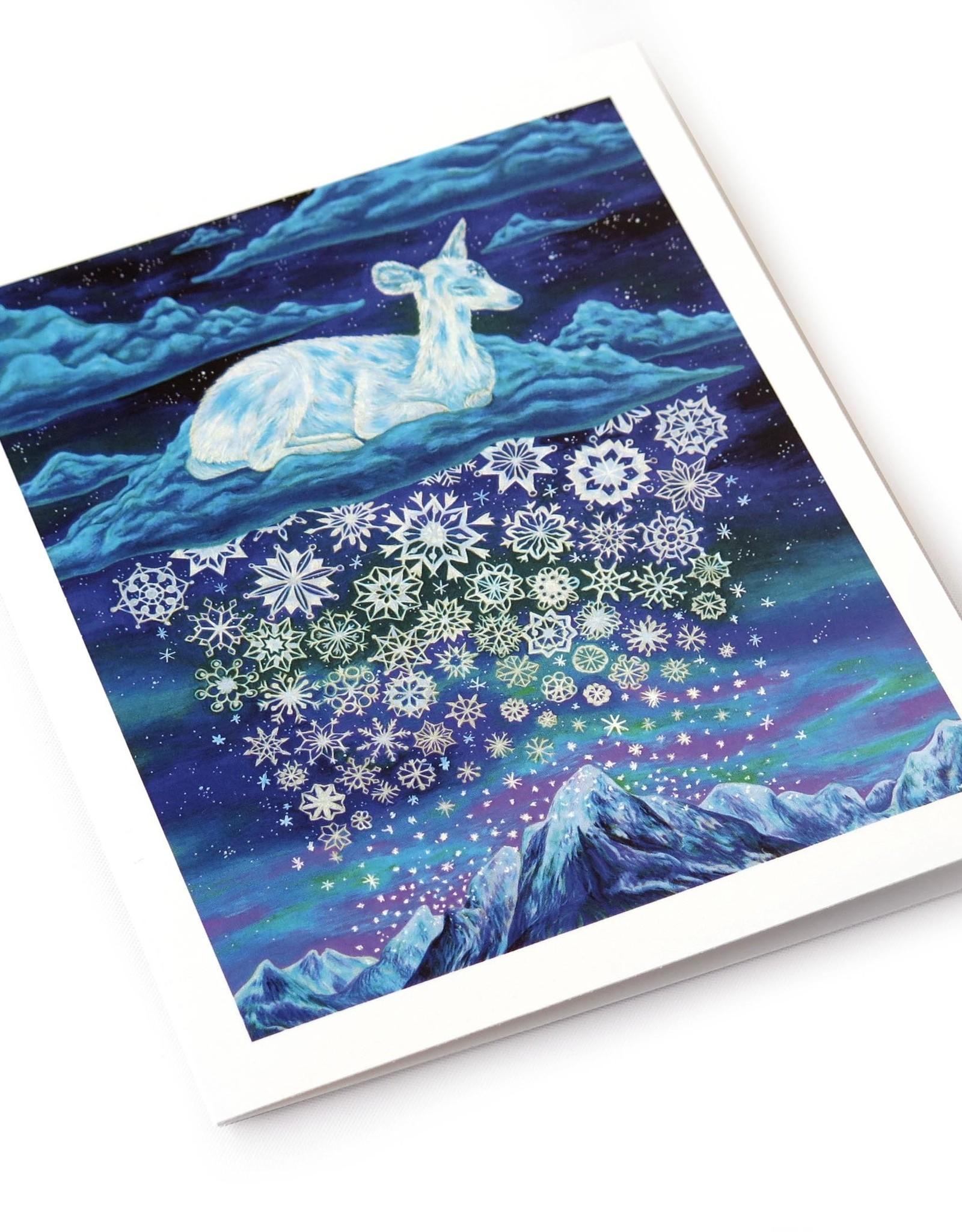 """Megan Rivera """"Deer"""" greeting card by Megan Rivera"""