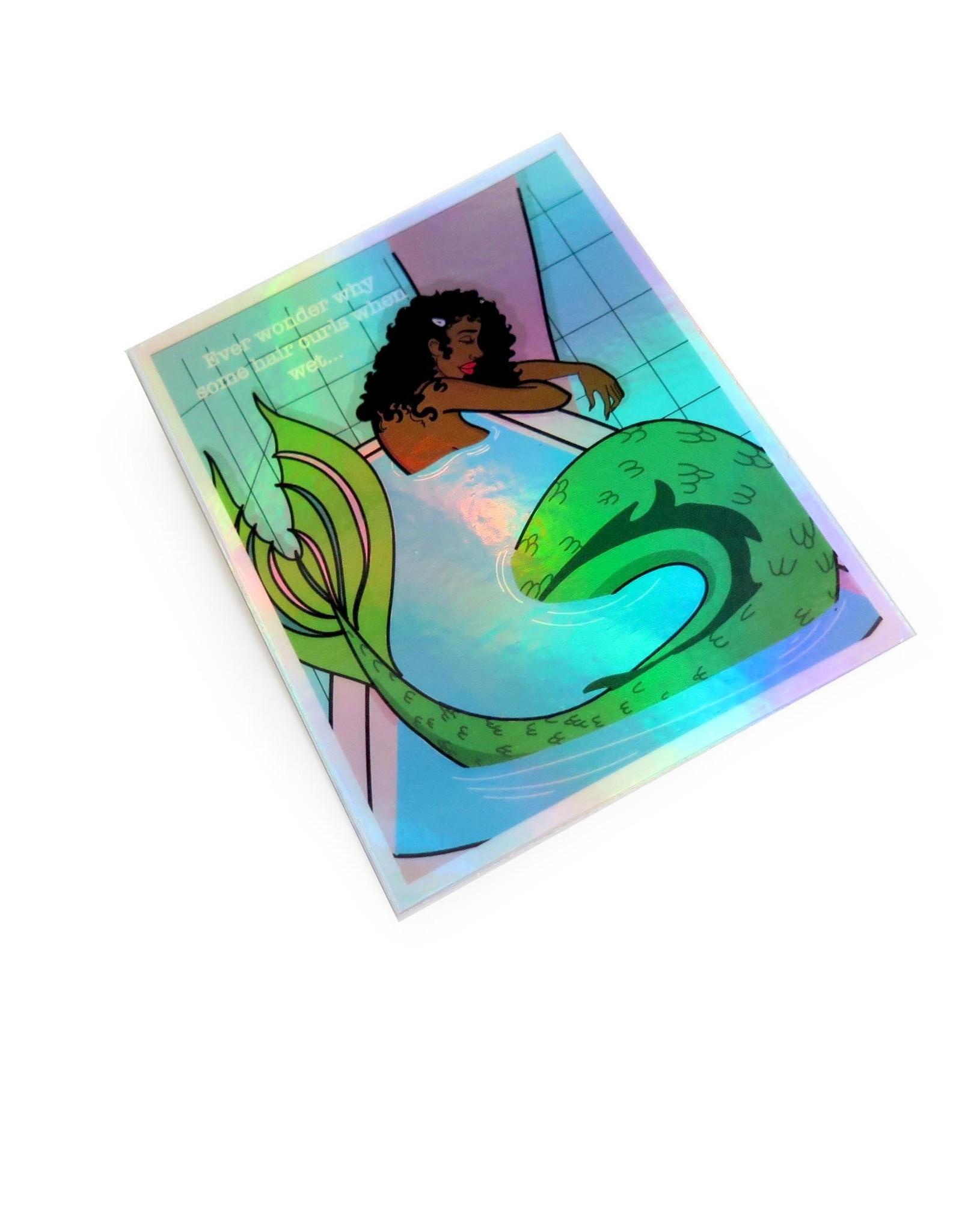 """Morgan Illustrates """"Mermaid"""" sticker by Morgan Illustrates"""