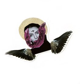 """Flying Soul"" (small) sticker by Lizzie Monsreal"