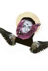 """""""Flying Soul"""" (small) sticker by Lizzie Monsreal"""