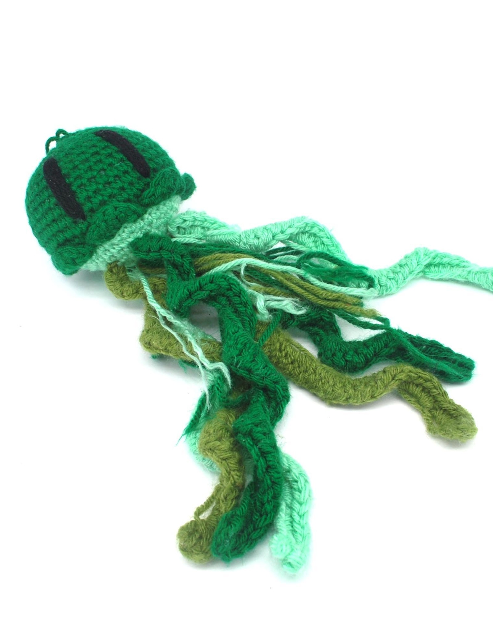 Haley Slamon Green Plush Jellyfish by Haley Slamon