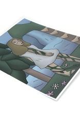 """Nature Goddess"" digital print (5.25"" x 6.75"") by Morishigeart"