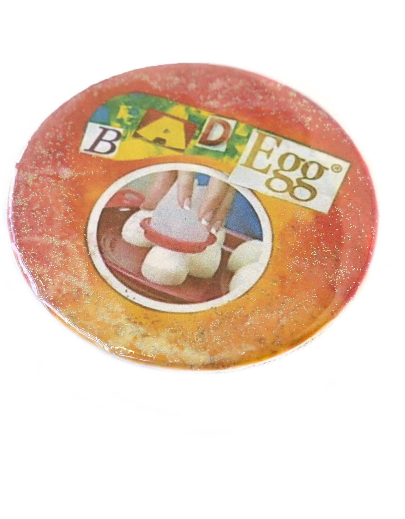 """""""Bad Egg"""" Pin  by Bag Egg"""